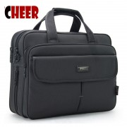 2016 Real Male Business Briefcase Men Shoulder Notebook Computer Bags Large-capacity Portable Handbag Good Design High Quality