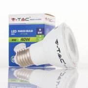 Lâmpada LED E27 PAR20 8w»40W Luz Natural 450Lm 40º