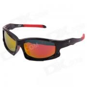 Elegante OREKA Deportes polarizada Fulgor-Guard TAC de lentes de sol de proteccion UV400 - Negro