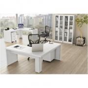 Ambiente para Home Office 06 Peças Branco 13 Tecno Mobili