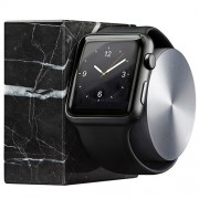 Dock Luxury Tech Marble Pentru Apple Watch Negru NATIVE UNION