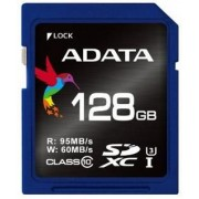 Card de memorie A-DATA Premier Pro SDXC, UHS-I U3, 128GB, Video Full HD