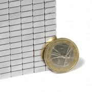 Magnet neodim bloc, 8x8x4 mm, putere 1,5 kg