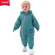 IYEAL High Quality Baby Rompers Winter Thick Cotton Boys Costume Girls Warm Clothes Kid Jumpsuit Children Outerwear Baby Wear