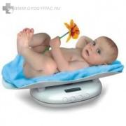 2 funkciós elektronikus csecsemőmérleg, panda babamérleg