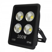 Proiector LED 200W Alb Rece 220V 4x50W
