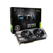 Nvidia Gtx 1070 Ftw Geforce Evga, 8gb, Ddr5, 256bit, 08g-p4-6276-kr