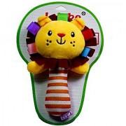 Magideal Cartoon Lion Animal Plush Toy Baby Kids Handbell Hand Bell Rattle