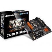 ASRock Z170M Extreme 4 Scheda Madre Intel 1151, Nero