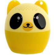Boxa Portabila Yuppi Love Tech Bear, Bluetooth, Buton pentru selfie (Galben)