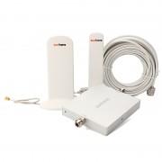 Sunhans - Booster / répéteur de signal mobile Dual Band 900Mhz - 2100Mhz voix + données - 300m²