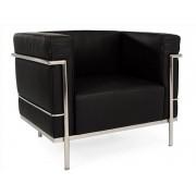 LC2 Fauteuil Large Le Corbusier - Noir