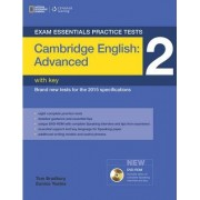 Exam Essentials: Cambridge Advanced Practice Tests 2 w/key + DVD-ROM by Eunice Yeates
