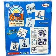Peacock Annie 6 - in - 1 Educational Solar Energy Kit Series 2 Multi Color Toys