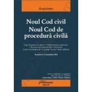 Noul Cod civil. Noul Cod de procedura civila - actualizat 12 noiembrie 2014.Gabriel BOROI si Delia-Narcisa THEOHARI – Analiza modificarilor si completarilor aduse prin Legea nr. 138/2014