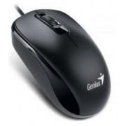 Mouse Genius DX110, Ambidextru (Negru)