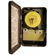 T103 Indoor Time Clock 110V Motor 40A (DPST) Timer Switch