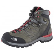 The North Face Verbera Hiker II GTX Shoes Men graphite grey/tnf red 45.5 Trekkingschuhe