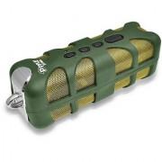 Pyle PWPBT60GN Sound Box Splash Bluetooth Rugged and Splash-Proof Marine Grade Portable Wireless Speaker (Green)
