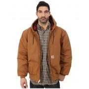 Carhartt Camo Lined Duck Active Jacket Carhartt BrownDark Brown