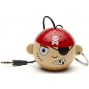 Boxa Portabila KitSound MyDoodle Characters Pirate, Jack 3.5mm (Bej)