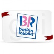 Baskin Robbins Gift Voucher