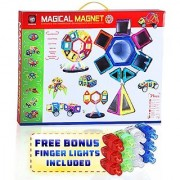 Magical Magnet Building Learning Toy Set For Kids - Magnetic Shapes For All Children And Involved Parents To Enhance Cre