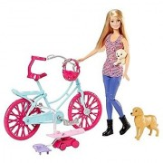 Barbie Spin 'N Ride Pups & Barbie Doll Playset