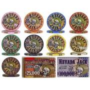 Nevada Jack Skull 10g kerámia póker zseton