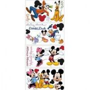 Disney Mickey & Friends Wall Decal Cutouts 18 x40