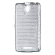 iCandy Break Design Soft TPU Back Cover for Lenovo A5000 - Transparent