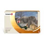 Schleich Scenery pack Olifanten Verzorgingsset 41409