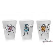 Pálinkás pohárkészlet(50ml) 3darab