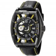 Stuhrling Original Mens 279335565 Xtreme Millennia Expo Analog Display Automatic Self Wind Black Watch