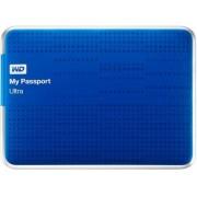 "HDD Extern Western Digital My Passport Ultra, 500GB, 2.5"", USB 3.0 si USB 2.0, Albastru"