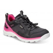 Pantofi copii ECCO Biom Trail (Negri cu Roz)
