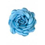 Синя сатенена роза