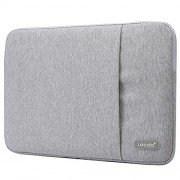 Lacdo Waterproof Fabric Laptop Sleeve Case Bag Notebook Bag Case For Apple MacBook Pro 13.3 Inch With Retina Display Macbook Air 13 Ultrabook, Gray