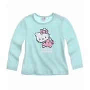 Bluza bebe Hello Kitty verde