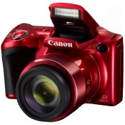 Aparat Foto Digital Canon PowerShot SX420IS, 20 MP, Filmare HD, Zoom optic 42x (Rosu)
