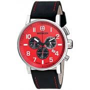 Classic Flyer by Kettler 01.1243.103 - Reloj de cuarzo para hombre, con correa de cuero, color negro