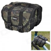 INBIKE multifuncion impermeable Bike Top Tube Saddle Bag - Camouflage