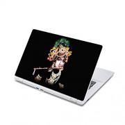 ezyPRNT Laptop Skin / laptop decal / laptop Sticker (13 to 13.9 Inch) for Apple, Lenovo, Dell, Vaio, HP, Lenovo, Acer, Asus, Toshiba Laptops with Krishna Black Photo