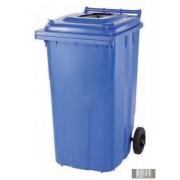 Külső hulladéktároló, 120 L - SZELEKTÍV PAPÍR