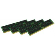 Kingston KVR16LR11S8K4/16I Memoria RAM da 16 GB, 1600 MHz, DDR3L, ECC Reg CL11 DIMM Kit (4x4 GB), 1.35 V, 240-pin, Certificata Intel