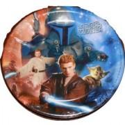 Star Wars 8 3/4 Inch Party Plates - 8 Pack Featuring Obi Wan Kenobi Boba Fett Yoda and Anakin Skywalker