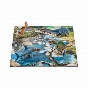 Mini Dinozauri + Puzzle 24 Piese - Apa Schleich-42330
