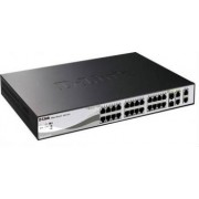 Switch D-Link DES-1210-28P Web Smart 24-Port