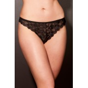 Lingerie Letters Black Lucy thong