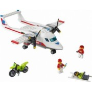 Set Constructie Lego City Avion Sanitar